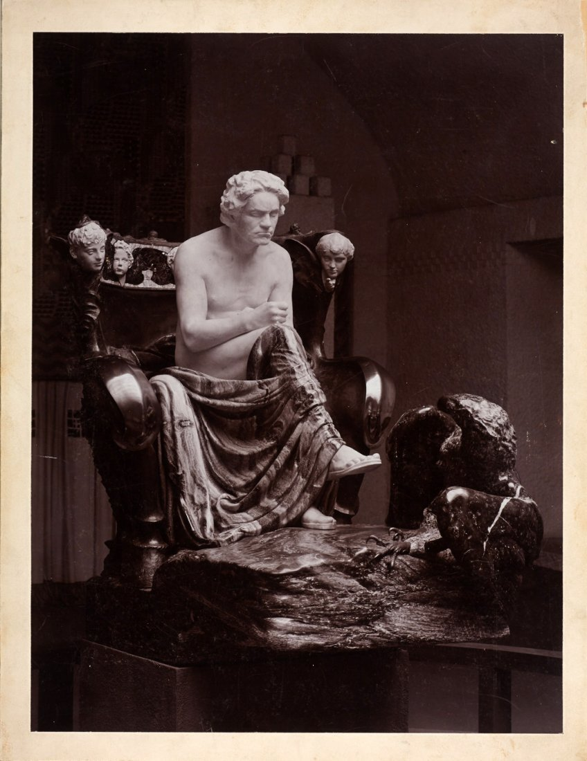 MORIZ NÄHR (1859–1945) Das Beethoven-Denkmal von / The
