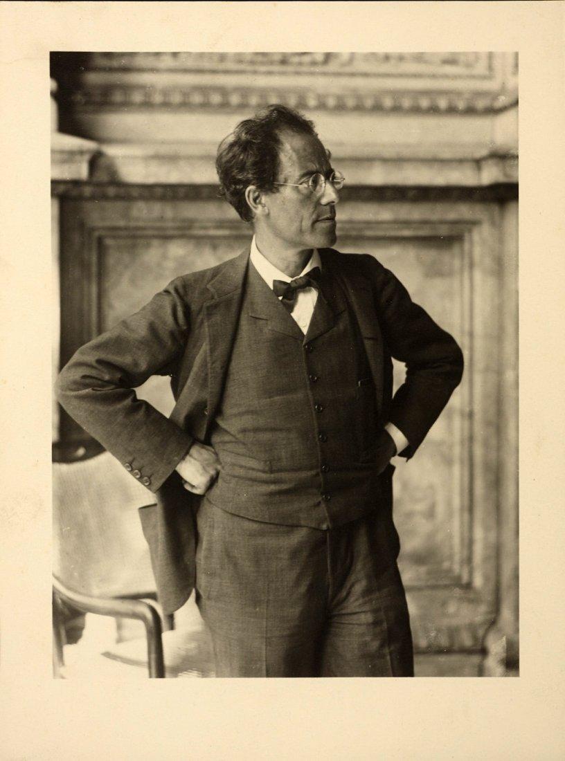 MORIZ NÄHR (1859–1945) Gustav Mahler, Hofoper, Vienna 1