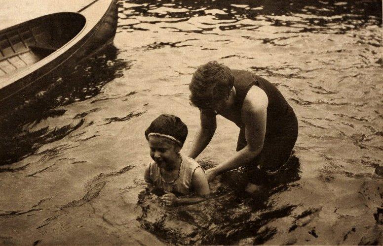 ALFRED STIEGLITZ (1864–1946) 'The Swimming Lesson', 190