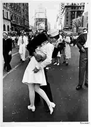 ALFRED EISENSTAEDT (1898–1995) 'V-J Day Kiss', Times Sq