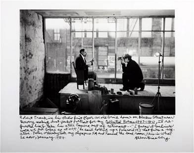 ALLEN GINSBERG (1926–1997) Selbstporträt mit Robert Fra
