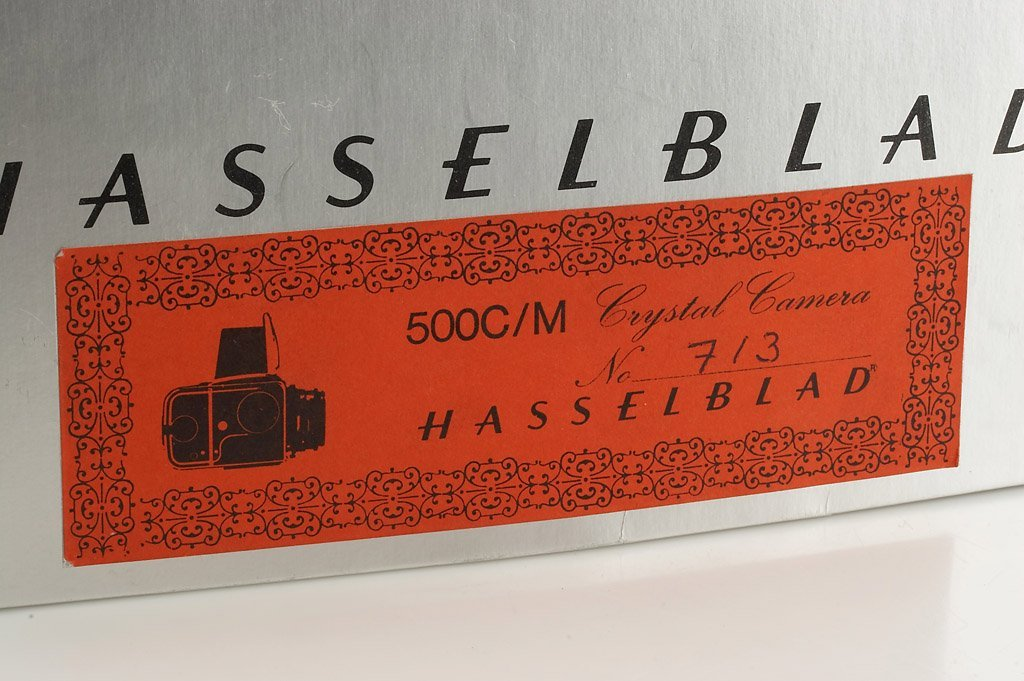 Hasselblad 500C Crystal Model * - 2