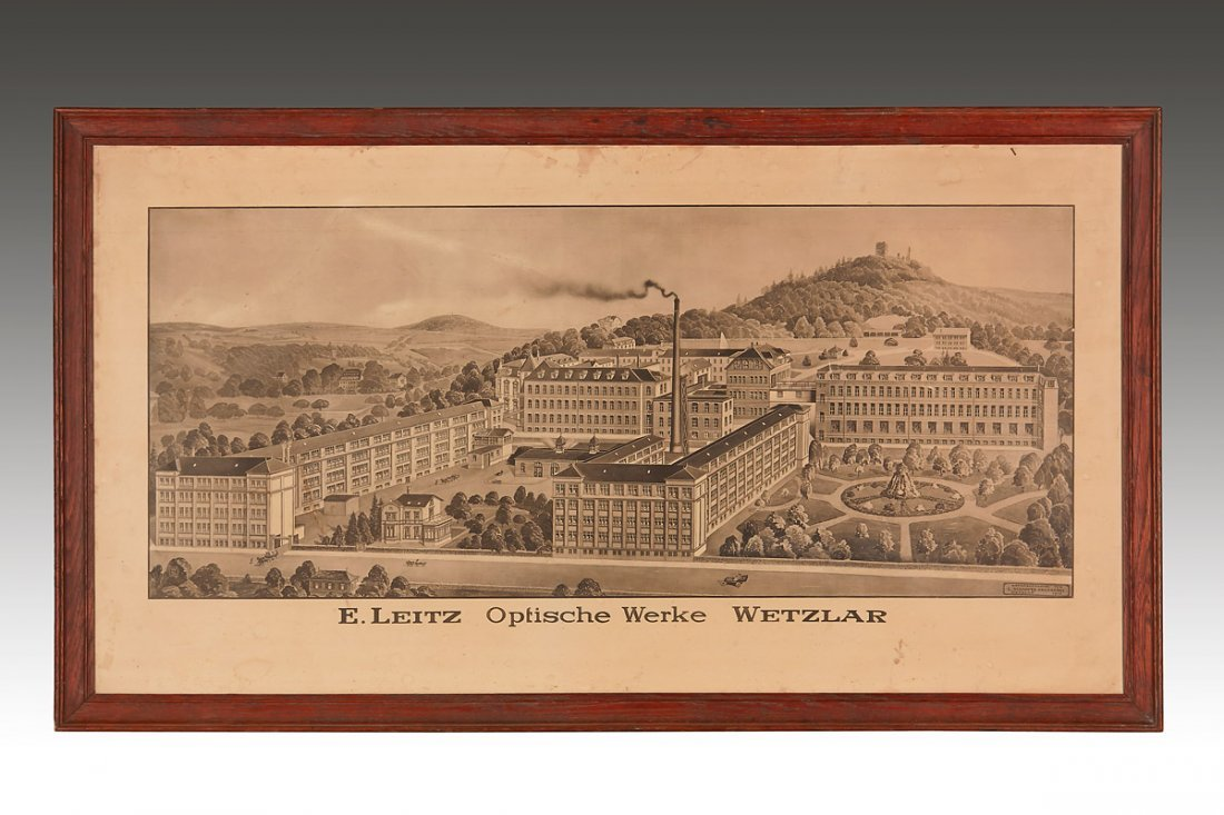 Ernst Leitz Factory 1911 Lithography, 1911