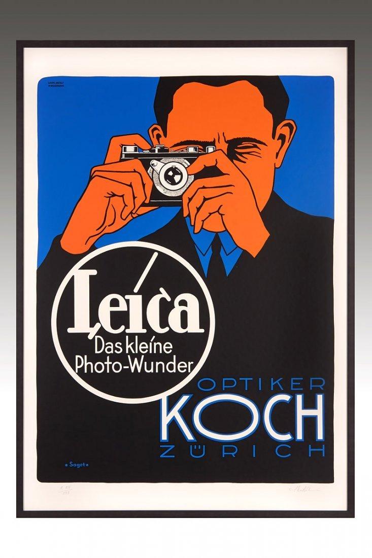 Poster 'Leica Das kleine Photowunder', c.1928
