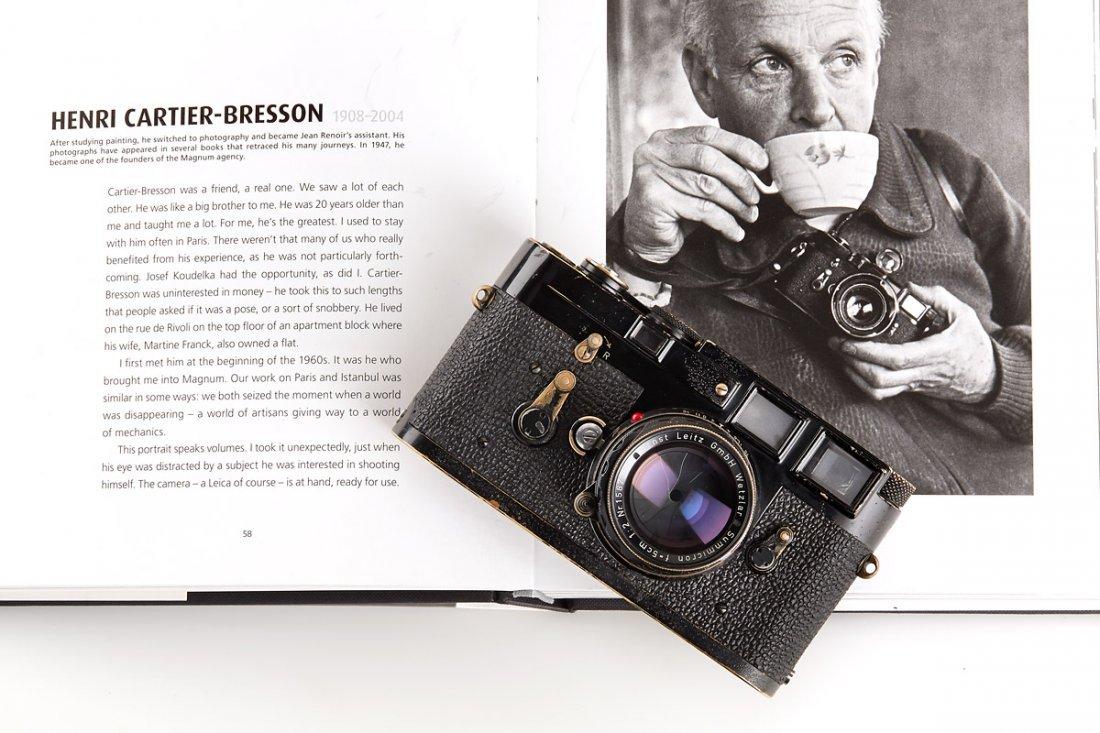 Leica M3 black paint 'Henri Cartier Bresson', 1960,
