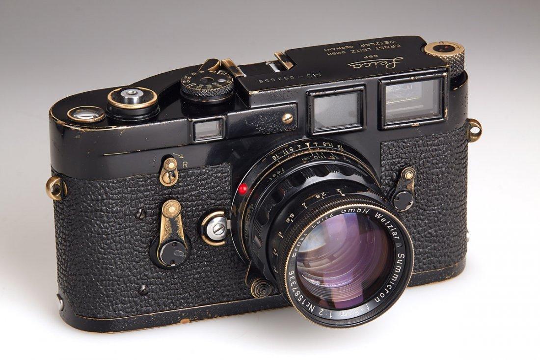 Leica M3 black paint 'Henri Cartier Bresson', 1960, - 2