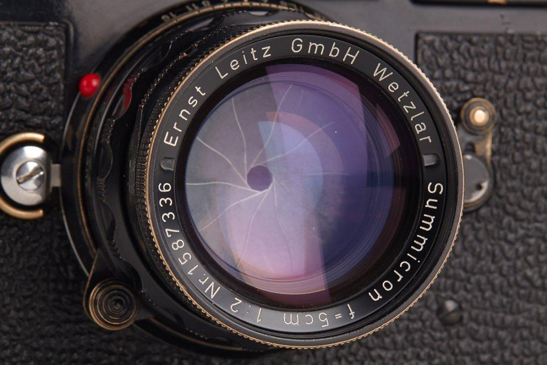 Leica M3 black paint 'Henri Cartier Bresson', 1960, - 3