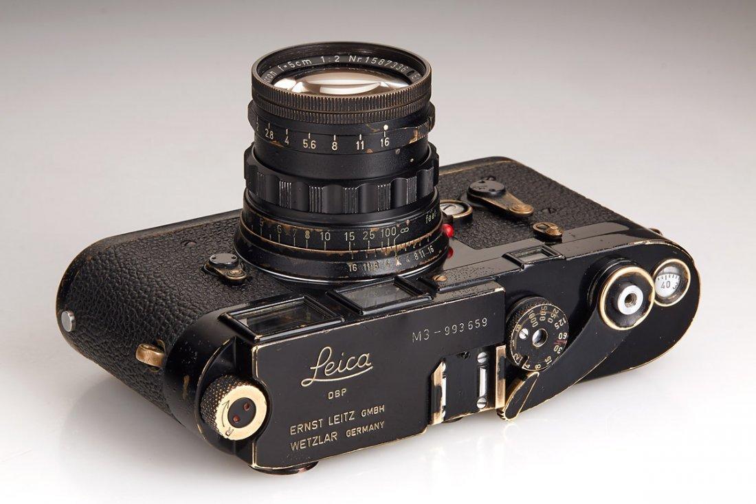Leica M3 black paint 'Henri Cartier Bresson', 1960, - 4