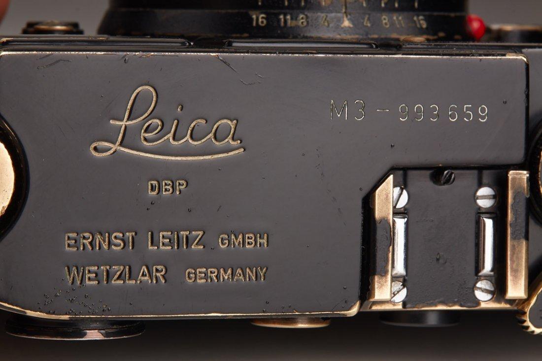 Leica M3 black paint 'Henri Cartier Bresson', 1960, - 6