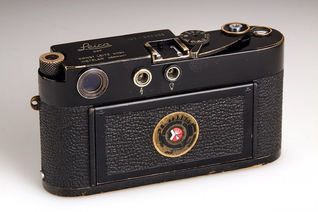 Leica M3 black paint 'Henri Cartier Bresson', 1960, - 7