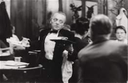 FRANZ HUBMANN (1914–2007) 'Der Ober Ali – Café