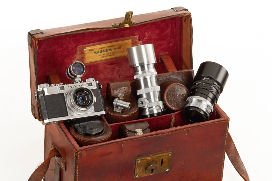 Nikon S 'Magnum' outfit 'George Rodger'
