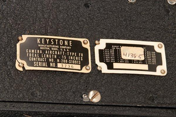 Keystone Fairchild Aerial Camera Type F8 - 3