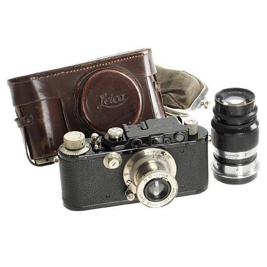 19: Leica: III Mod.F  Black outfit