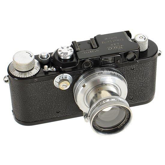 22: Leica: III Mod.F  Black/Chrome