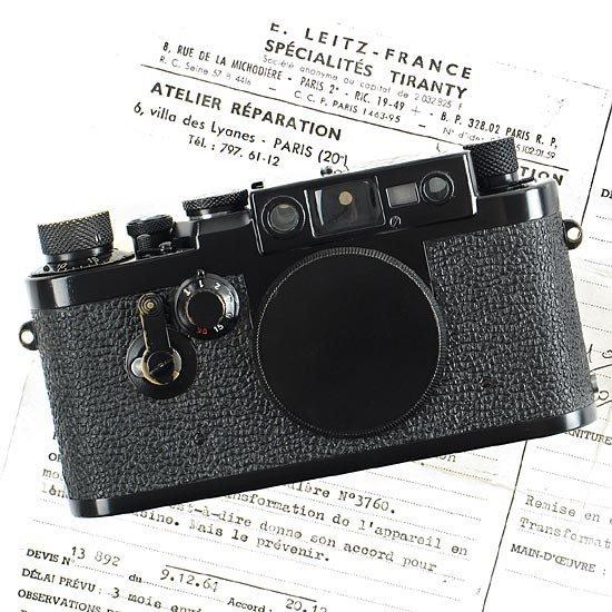 53: Leica: IIIg  Black Paint