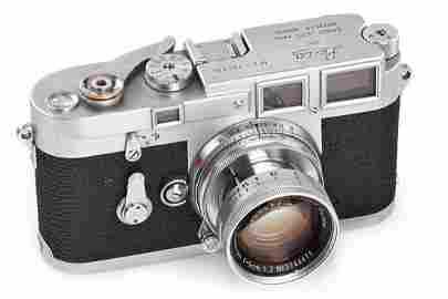 Leica M3 chrome no.700004