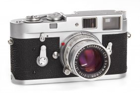 Leica M2 Elc + 2/50mm Summicron Elc Prototype *