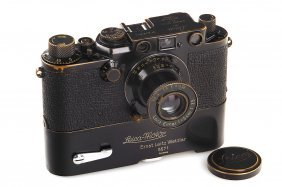 Leica Iiif Black 'swedish Army' *