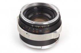 Carl Zeiss Planar 2/50mm Prototype *