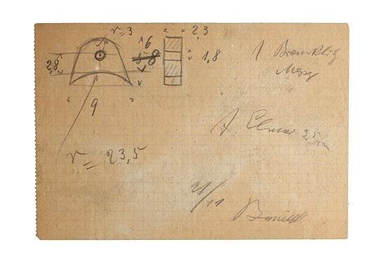 1: Leica: O. Barnack Drawing