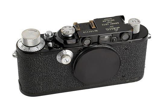 19: Leica: III Mod.F  Black
