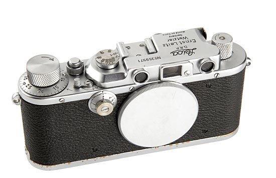 23: Leica: IIIa  'Monte en Sarre'