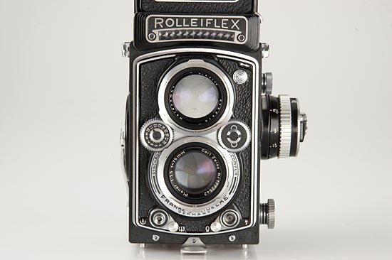598: Rolleiflex  3.5C Planar - 3