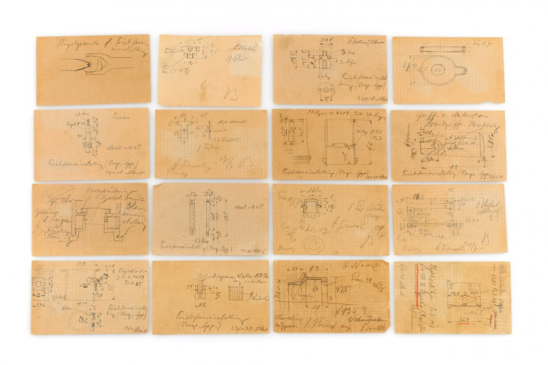 Barnack + Albert Construction Drawings (various),