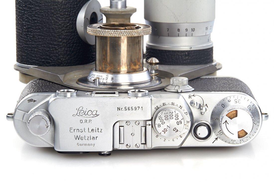 Leica IIIf + Haber & Fink Lens Turret *, c.1951, no. - 9