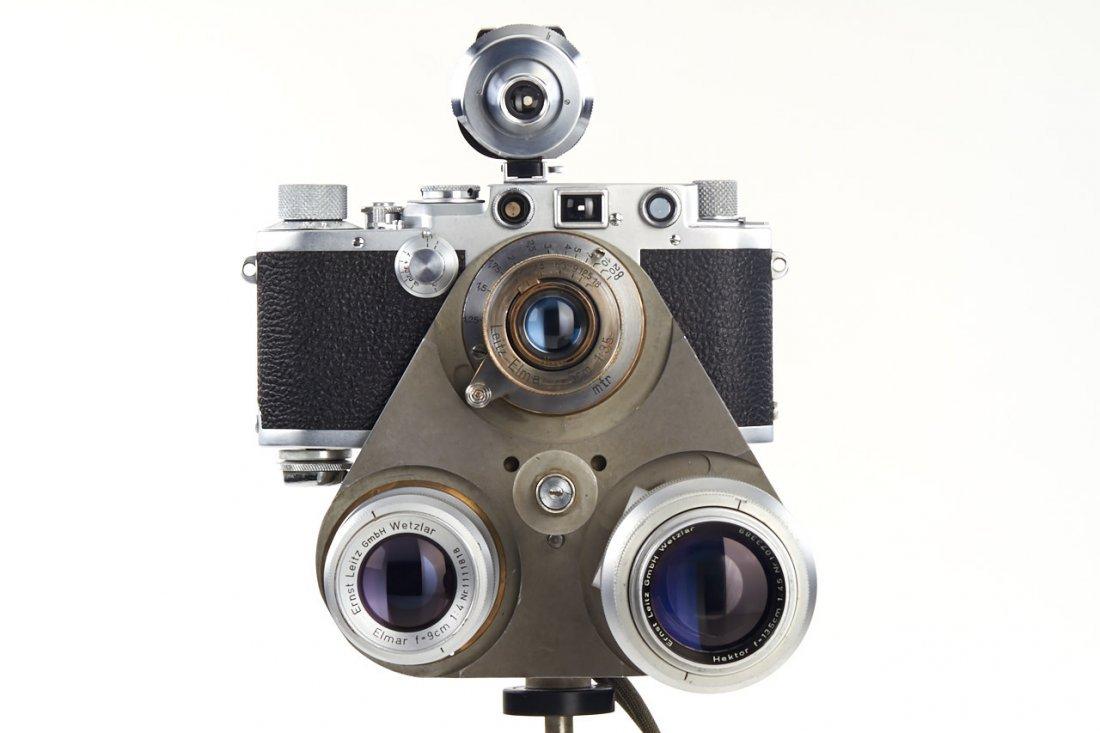 Leica IIIf + Haber & Fink Lens Turret *, c.1951, no. - 2
