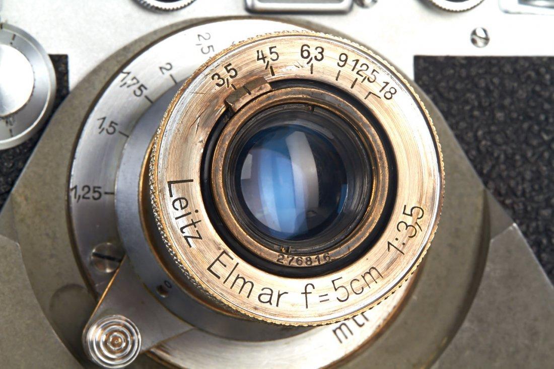 Leica IIIf + Haber & Fink Lens Turret *, c.1951, no. - 3