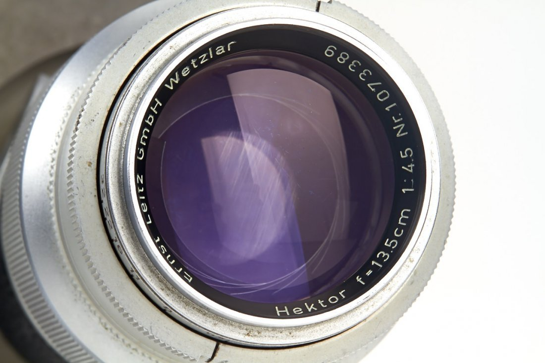Leica IIIf + Haber & Fink Lens Turret *, c.1951, no. - 5