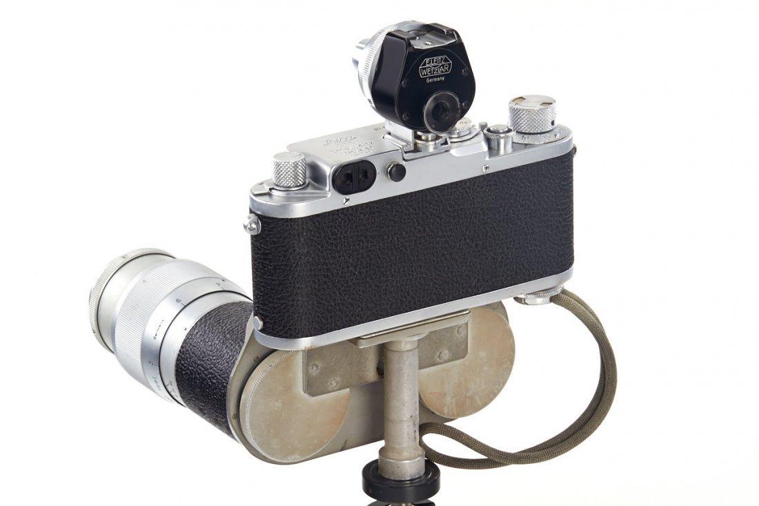 Leica IIIf + Haber & Fink Lens Turret *, c.1951, no. - 6