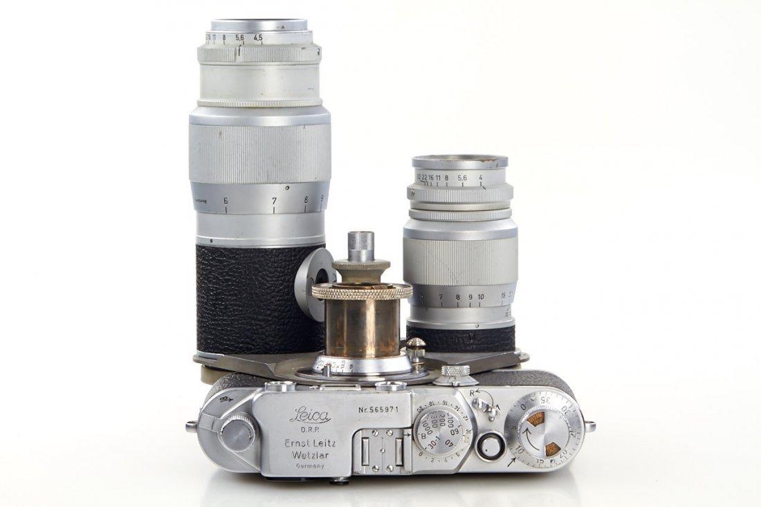 Leica IIIf + Haber & Fink Lens Turret *, c.1951, no. - 8