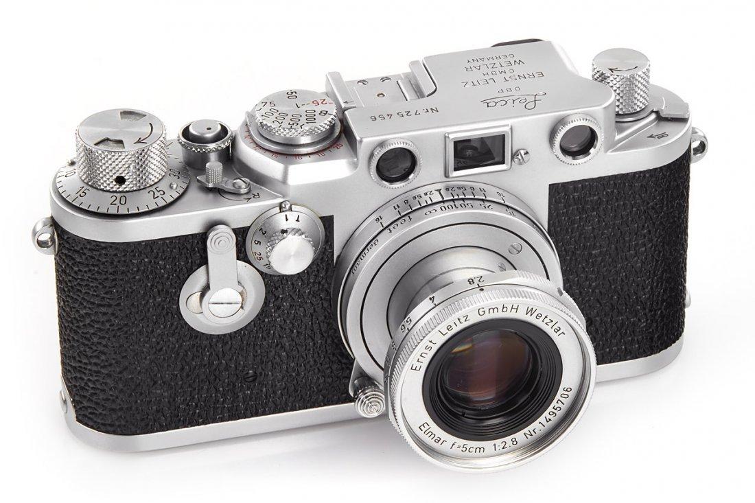 Leica IIIf Red Dial, 1954, no. 725456