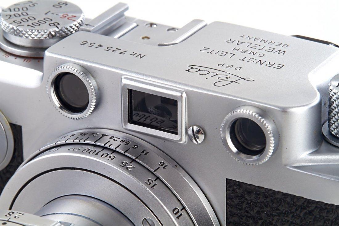 Leica IIIf Red Dial, 1954, no. 725456 - 3