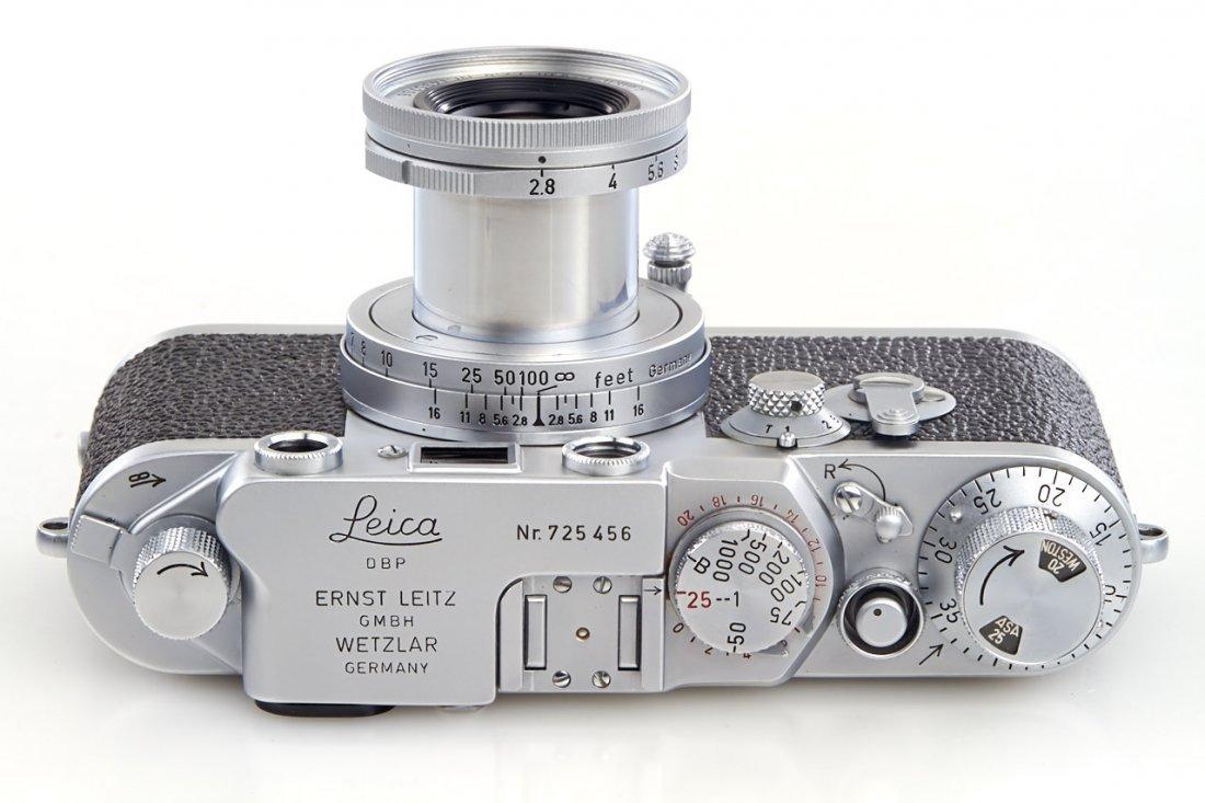 Leica IIIf Red Dial, 1954, no. 725456 - 5