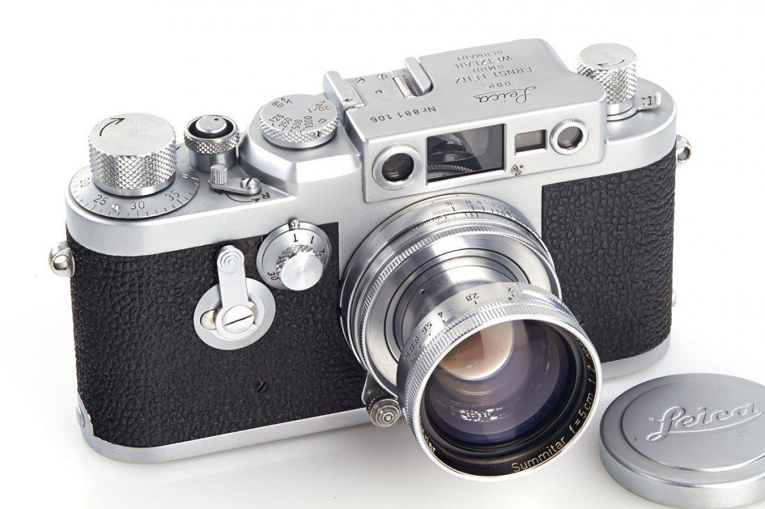 Leica IIIg, 1957, no. 881105 - 7
