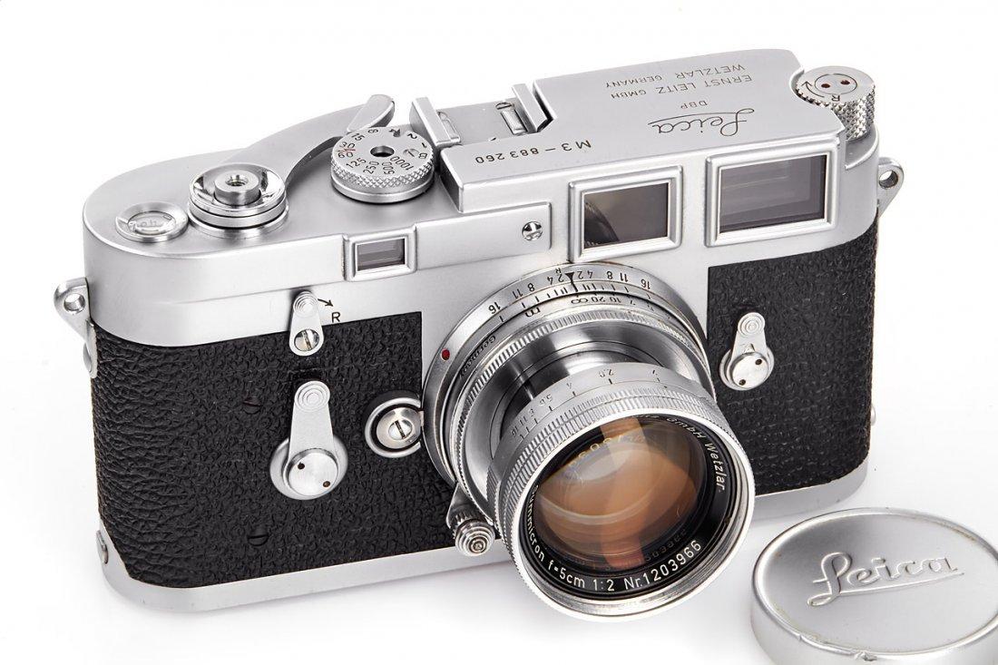 Leica M3 chrome *, 1957, no. 883260
