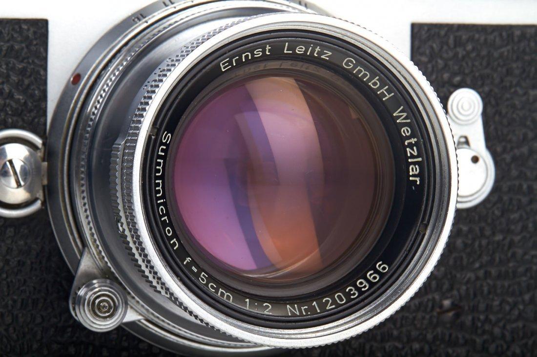 Leica M3 chrome *, 1957, no. 883260 - 2