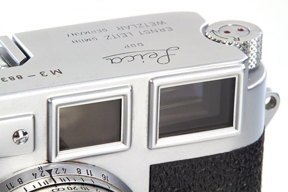 Leica M3 chrome *, 1957, no. 883260 - 4