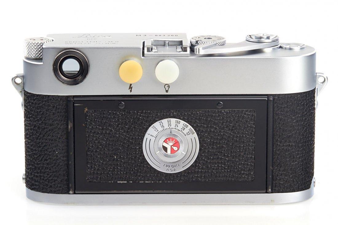 Leica M3 chrome *, 1957, no. 883260 - 5
