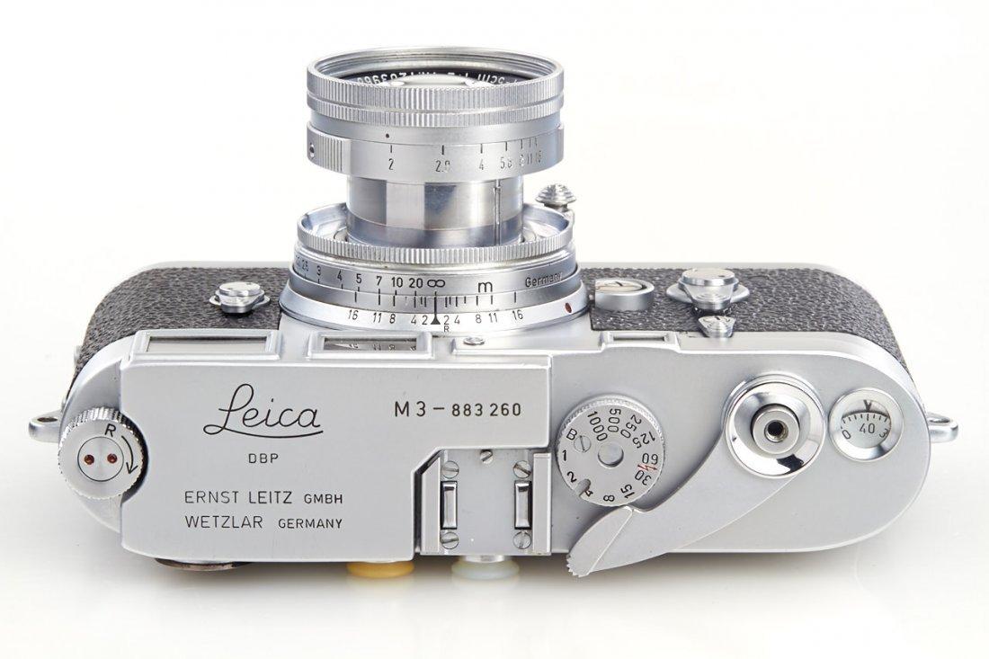Leica M3 chrome *, 1957, no. 883260 - 6