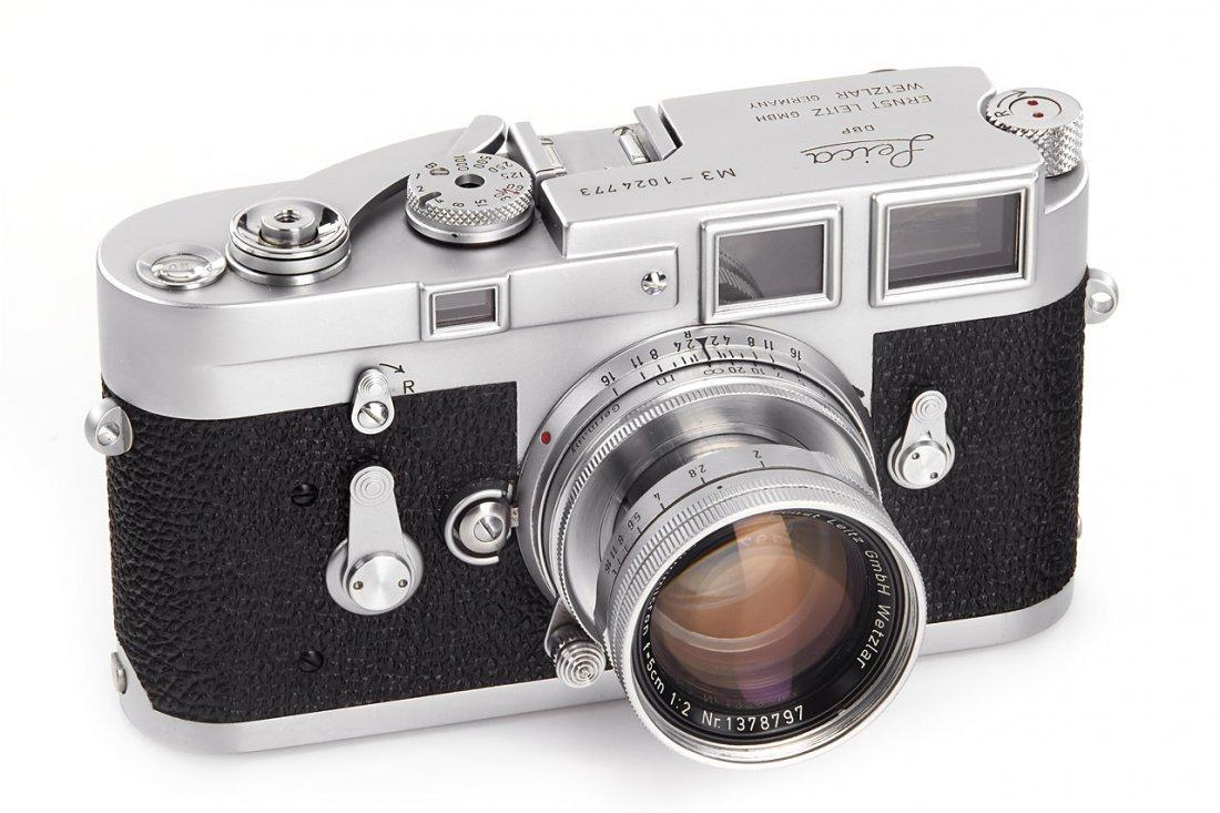 Leica M3 chrome *, 1961, no. 1024773