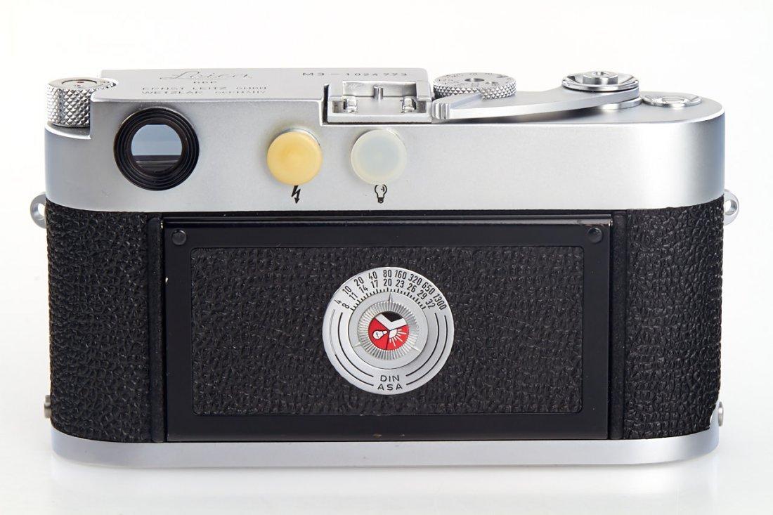 Leica M3 chrome *, 1961, no. 1024773 - 3