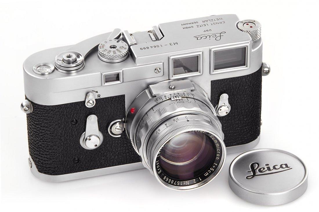 Leica M3 chrome *, 1963, no. 1064699