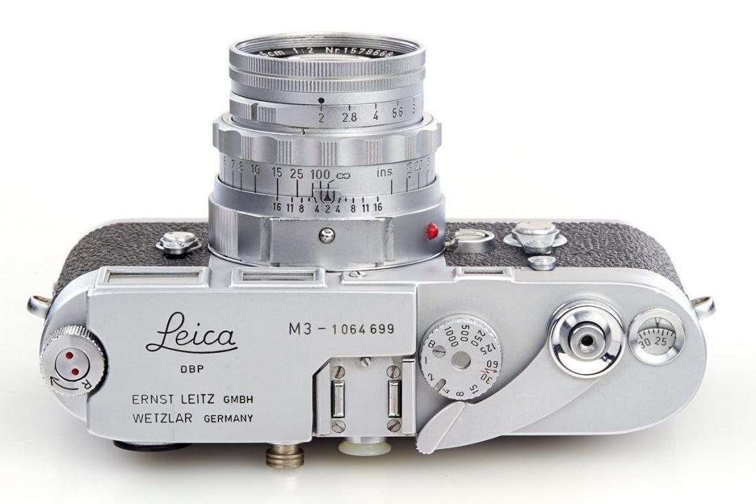 Leica M3 chrome *, 1963, no. 1064699 - 6