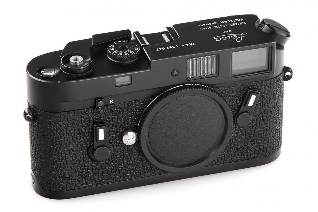 Leica M4 black Wetzlar, 1974, no. 1381547