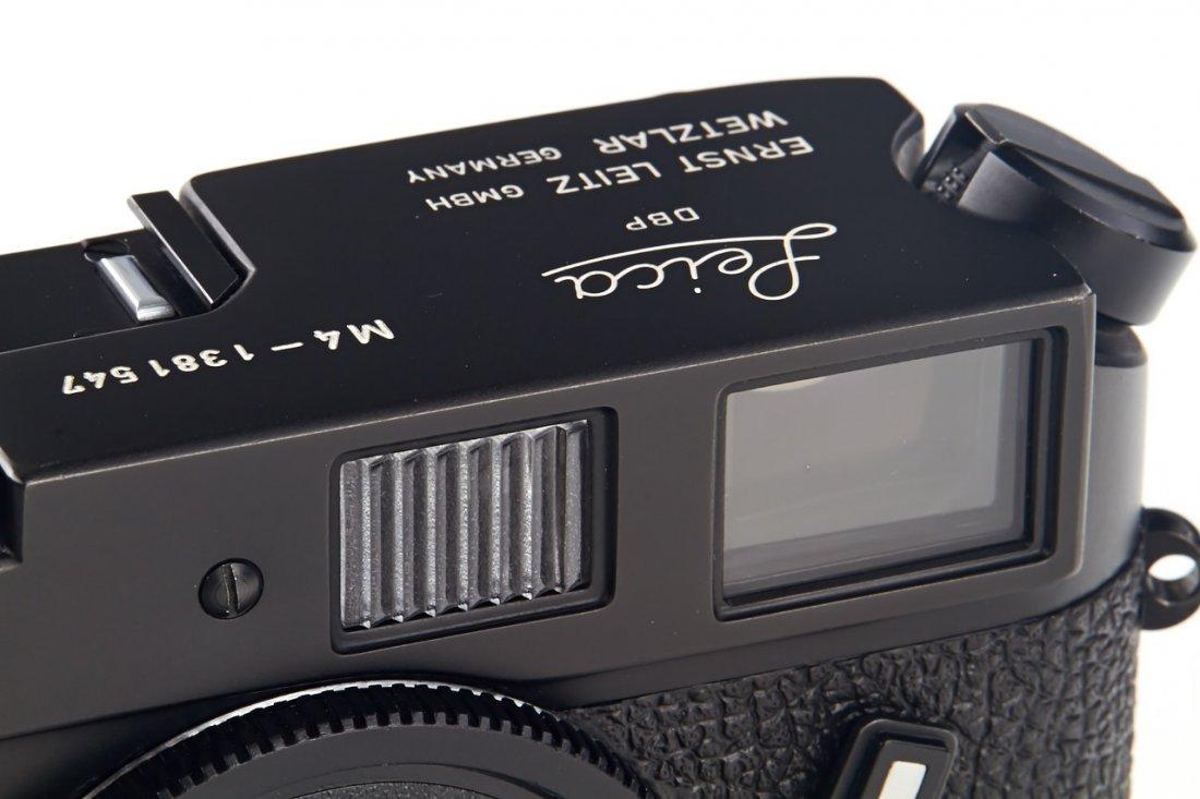 Leica M4 black Wetzlar, 1974, no. 1381547 - 3